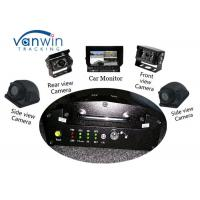 Buy cheap VPN Vehicle Tracking Video System 3G Mobile DVR GPS Car Mobile DVR With 4 HD Cameras from wholesalers