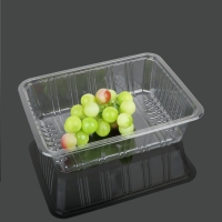 Buy cheap Supermarket Rectangle 22*17*6cm Disposable Fruit Tray from wholesalers