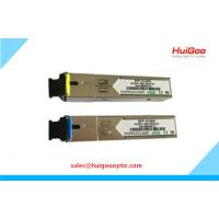 Buy cheap 1.25G SFP Module 1000Base SFP BIDI DDM Single Fiber 120km Fiber Optical Transceiver product