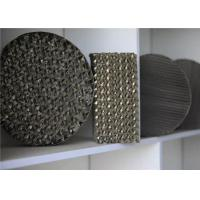 China Knitted Wire Mesh Gauze Metal Structured Packing For Distillation Column on sale