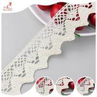 Buy cheap Eco - Friendly Apparel Cotton Lace Fabric Trim High Color Fastness product