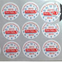 Buy cheap Special Broken Ultra Tamper Proof Stickers , Irremovable Security Seal Stickers from wholesalers