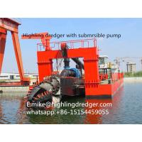 Buy cheap 1500m³ River Sand Cutter Suction Dredger,Gold dredger from wholesalers