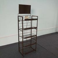 Buy cheap Floor Retail Shoe Rack / Retail Floor Display 136SETS Loading Quantity from wholesalers
