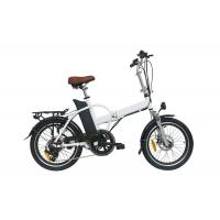 China Folding alloy frame electric bicycle / Folding Electric Bike li-ion battery , CE approved on sale