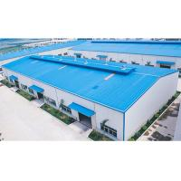 Buy cheap Q235B / Q355B Prefab Steel Buildings Construction Steel Structure Factory Buildings from wholesalers