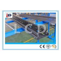 Buy cheap High Accuracy Beam Rack Roll Forming Machine With Punching Press PPGI Material from wholesalers