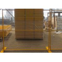 Welded Wire Mesh Canada Temporary Fencing Bright Colored With Aesthetic Effects