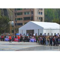 Buy cheap Custom Trade Show Tents Aluminum Material Fireproof / Flame Retardant from wholesalers