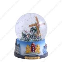 Buy cheap religious water snow globe with musical stands from wholesalers