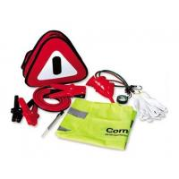 Buy cheap 12 pcs auto emergency kit ,with warning triangle ,booster cable ,tyre pressure gauge from wholesalers