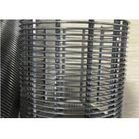 Industrial Screens , Rhombus Shape Wire Weldded Screen Mesh For Industrial Filtration