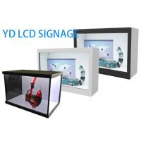 Buy cheap Wall Mounted Transparent LCD Display Showcase 32 Inch With Android System from wholesalers
