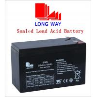 Buy cheap 12volt Car,Computer UPS, Electric Power, Lighting, Electric Bicycle VRLA Lead Acid Battery UPS Batteries 12V9AH from wholesalers