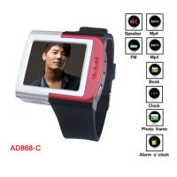 "Buy cheap 1.8"" TFT True Color Screen MP4 Player Watch With Alarm o'clock, U - Disk Ffunction from wholesalers"