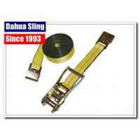 Buy cheap Rigid Flatbed Luggage Tie Down Straps , Small Utility Ratcheting Tie Downs from wholesalers