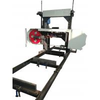 Buy cheap lumber mobile saw mill with diesel engine of portable horizontal band sawmill from wholesalers