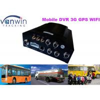 Taxi CCTV Wifi Bus 4 Camera Car DVR 3G Live Video Tracking with GPS