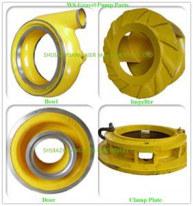 Buy cheap Cast Process Suction Dredge Pump Dredge Pump Parts OEM / ODM Available product