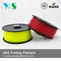 Buy cheap Durable Red 3D Printer Filaments 3.0mm Plastic High Toughness For Ultibot from wholesalers