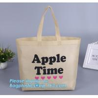 Buy cheap wholesale fashion 38*42*10cm 80gsm 100% pp non woven bag with handle, gusset and bottom, Promotional Cheap Customized Fo from wholesalers
