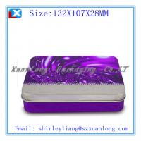 Buy cheap Rectangle chocolate packing tin box from wholesalers