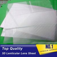 Buy cheap Clear Plastic Lenticular Printing Sheet Price Suppliers 60 LPI 3D Flip Lenticular Plastic Lens Blanks Ecuador from wholesalers