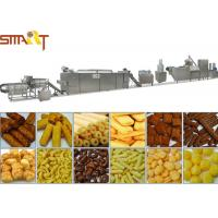 Buy cheap High Performance Snacks Food Product Line , Stainless Steel Puffed Food Machine from wholesalers