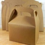 Buy cheap 2015 Custom Kraft Gable Boxes from wholesalers