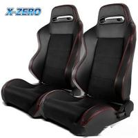 Buy cheap Double Universal Aftermarket Sport Seats PVC Leather / Stitching , Customized Design from wholesalers