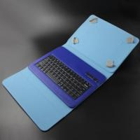 Buy cheap Leather cordless Bluetooth Keyboard Case For 9 Inch Tablet product