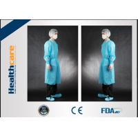 Buy cheap Non Toxic Disposable Surgical Gowns Non-sterile Customized Size With Tie/Hook And Loop from wholesalers