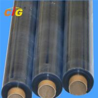 Buy cheap Flexible Clear PVC Transparent Film , Stretch Protective Plastic Film Roll product