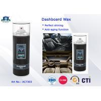Eco-friendly Auto Care Products Car Wax Dashboard Polish Protectant / Cockpit Spray 400ml