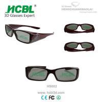 Stylish Custom Virtual Reality Linear Polarized 3d Glasses For Woman