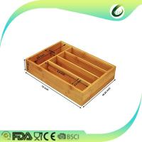 Buy cheap Totally bamboo expandable utility drawer organizer from wholesalers