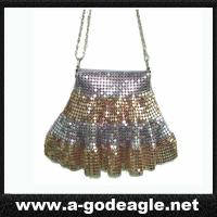 Buy cheap Ladies clutch bag, small aluminum mesh handbag in 2 colors G2044 from wholesalers