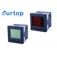 Buy cheap 80~270V Multifunction Digital Panel Meter With Programmable Measurement from wholesalers