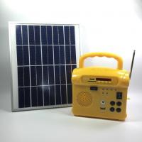 Buy cheap Portable Small Solar Energy System With Radio , Solar Powered Generator from wholesalers