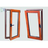 Buy cheap European Style Aluminium Tilt And Turn Windows with Two Open Way Double Glazing from wholesalers