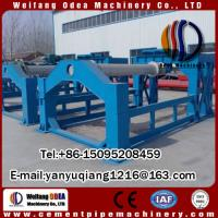 Buy cheap Carbon Steel Cement Pipe Making Machine For Construction Materials Machinery from wholesalers