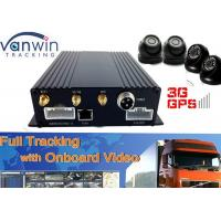 Buy cheap 1080P 128GB 4-CH SD Mobile DVR , SD Card Security DVR Recorder from wholesalers
