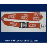 Buy cheap Woven Single Layer Heat-transfer Printing Custom Printed Lanyards for Promotional from wholesalers