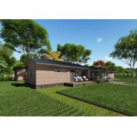 Buy cheap Elegant Prefabricated Wooden Homes , Fireproof Modular Wooden House from wholesalers