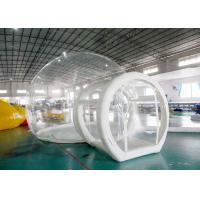 Buy cheap Half Transparent Inflatable Dome Tent / Bubble Tent For Lawn Camping from wholesalers