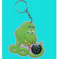 Buy cheap Soft PVC Keychain with Compass, Compass PVC Keychain from wholesalers