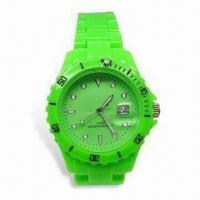 Buy cheap Fashionable Quartz Watch with Japanese Multifunction Movement, Customized Logos Welcomed, Waterproof product