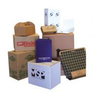 Buy cheap Black Printed Cardboard Boxes , Recycled Gift Boxes Foil Stamping Finish from wholesalers