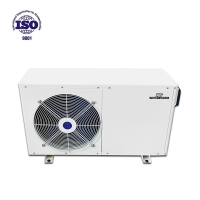 Buy cheap Outdoor pool suitable heating capacity container pool Heat Pump with wifi for jacuzzi spa from wholesalers