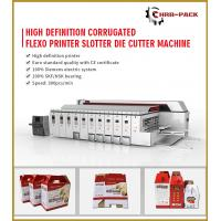 Buy cheap 2019 HRB PACK High Defination Flexo Printing Machine/Automatic 5 Colors Printer&Slotter&Die Cutter from wholesalers